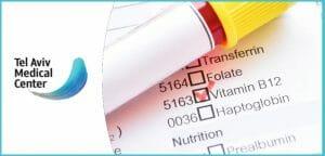 בדיקת דם לחומצה פולית ו-B12